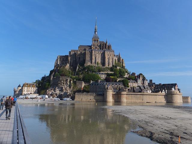 Mont Saint-Michel lieu énergétique
