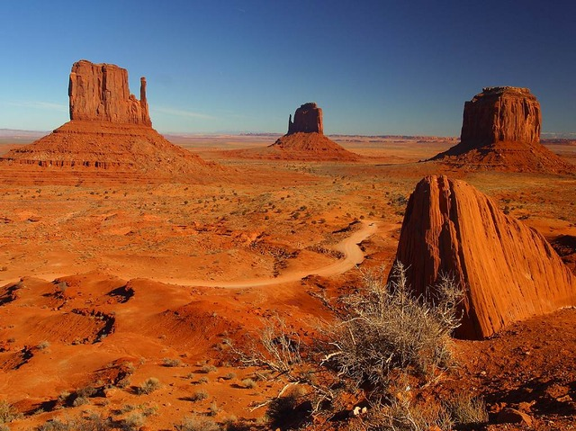 Monument Valley USA lieu énergisant