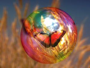 bulle de lumière et de portection chamanique
