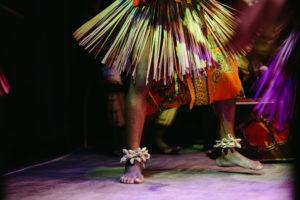 Danse chamanique rituel traditionnel