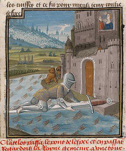 illustration médiévale lancelot du lac guerrier de lumière (chamanisme)