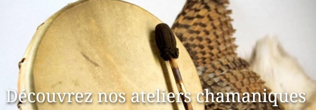 ateliers chamaniques avec Eric Delafontaine et Sandrine Delacelle Nantes-44