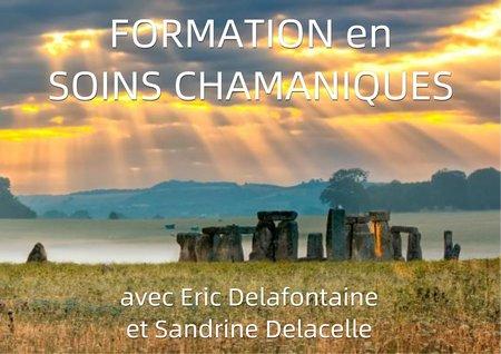 formation soins chamaniques par E. Delafontaine et S. Delacelle