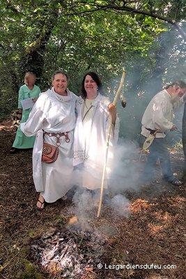 Druidesses Lugnasad fête des moissons